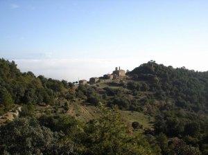Imagen de san Josemaría en Pallerols