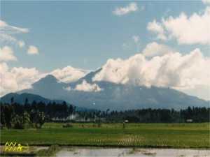 El monte Banahaw, en Filipinas
