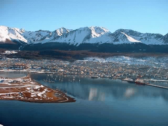 Cerro Castor, centro de Ski prendido Fuego, Fotos de Ushuaia
