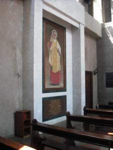 Imagen de san Josemaría en la catedral de Nairobi