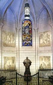 Imagen San Josemaría Escrivá de Balaguer capilla Catedral Madrid