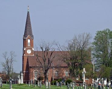 Vista actual de la iglesia