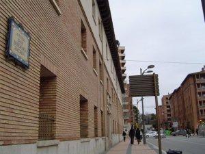 Vista de la Avenida de San Josemaría en Barbastro