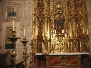 El cuadro de san Josemaría se había colocado ocho meses antes