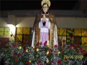Imagen de san josemaria en Quilmaná