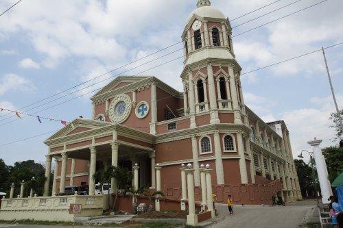 Fachada de la iglesia de San Francisco Javier