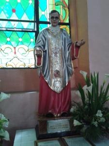 Imagen de san Josemaría en la Basílica Menor de San Lorenzo Ruiz o iglesia de Binondo