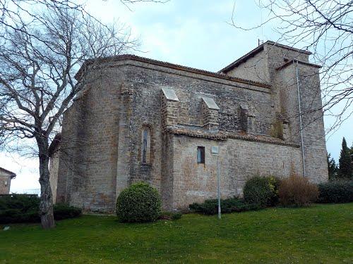 Iglesia de San Andrés, en Zizur Mayor.